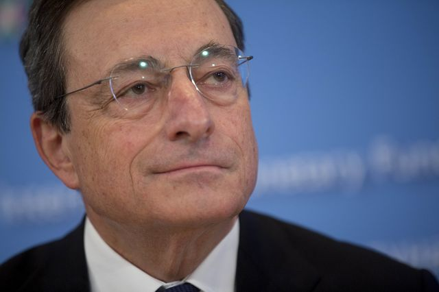 Mario Draghi is ready to get unconventional.Photographer: Andrew Harrer/Bloomberg
