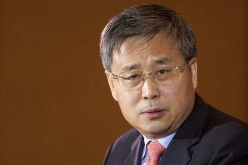 Chinese Securities Regulatory Commission Chairman Guo Shuqing