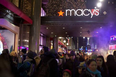 U.S. Holiday Sales Rise 0.7% as Washington Hurts Confidence