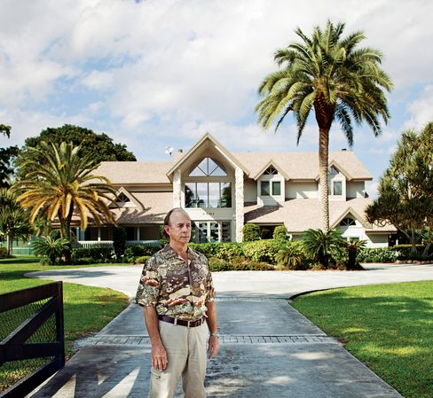 Joseph Lents hasn't paid his mortgage since 2002. But the loan's owner can't foreclose--it can't produce his paperwork. Photographer: Ofer Wolberger/Bloomberg Businessweek via Bloomberg
