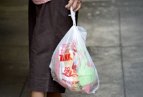 Plastic Bag Use in California