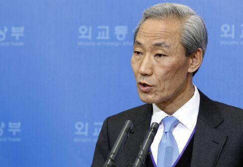 Kim Jong Hoon, South Korea's trade minister