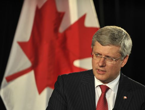 Canada's Prime Minister Harper