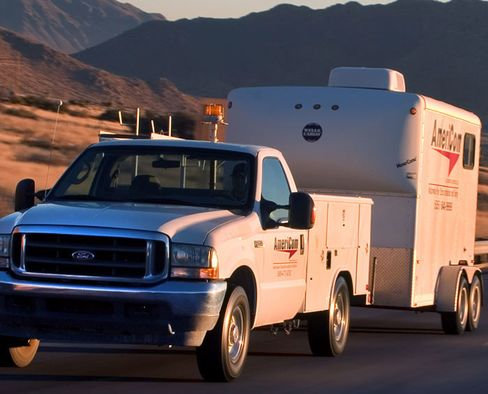 AmeriCom Automation Services Inc.'s Truck