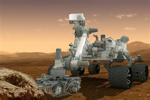 NASA Rover Drills Martian Rock, Looks for More Clues to Wet Past