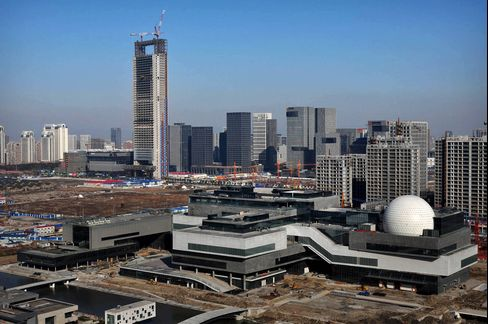 Buildings Stand in Ningbo