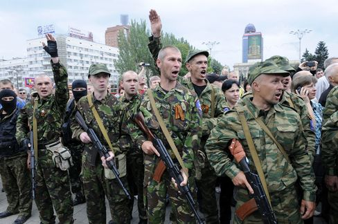 Pro-Russian Militants in Donetsk