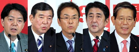 Japan LDP Votes For New Leader Before Election Fight With Noda