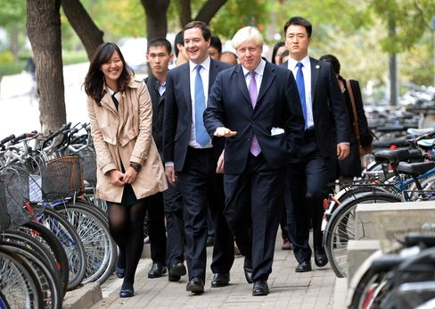 U.K. Officials in Beijing