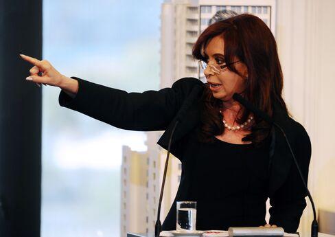President Cristina Fernandez de Kirchner