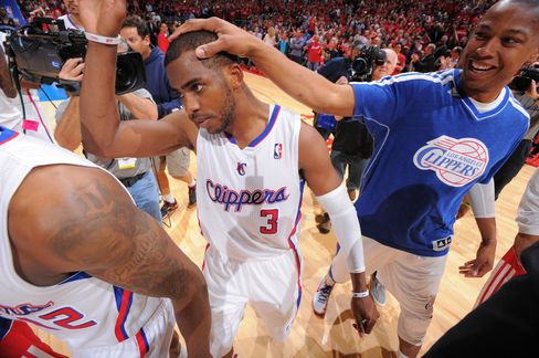 Clippers Player Chris Paul