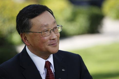 BlackBerry Ltd. Chief Executive Officer John Chen