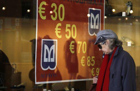 Euro Trades Near 3-Week Low on Concern Greek Aid Delayed