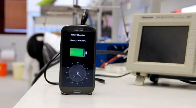 The StoreDot phone charger YouTube video. Source: YouTube