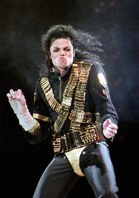 Pop Star Michael Jackson