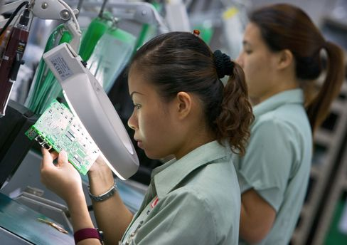 Singapore GDP Unexpectedly Contracts as Manufacturing Faltered