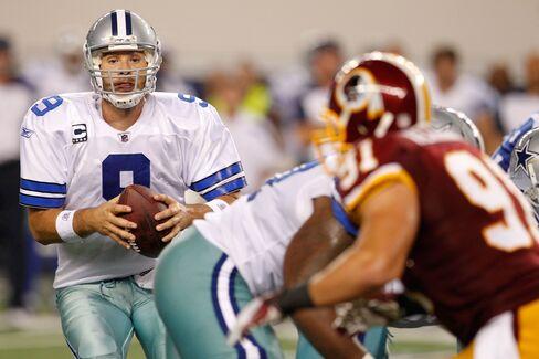 Cowboys Beat Redskins 18-16 Behind Tony Romo