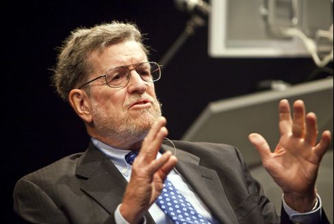 William Poole, former president of the Federal Reserve Bank of St. Louis. Photographer: Ramin Talaie/Bloomberg