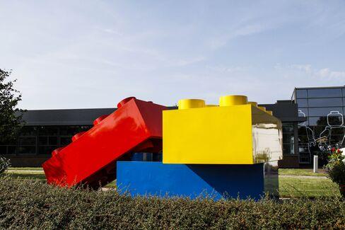 Lego Beats U.S. Toymaker Rivals