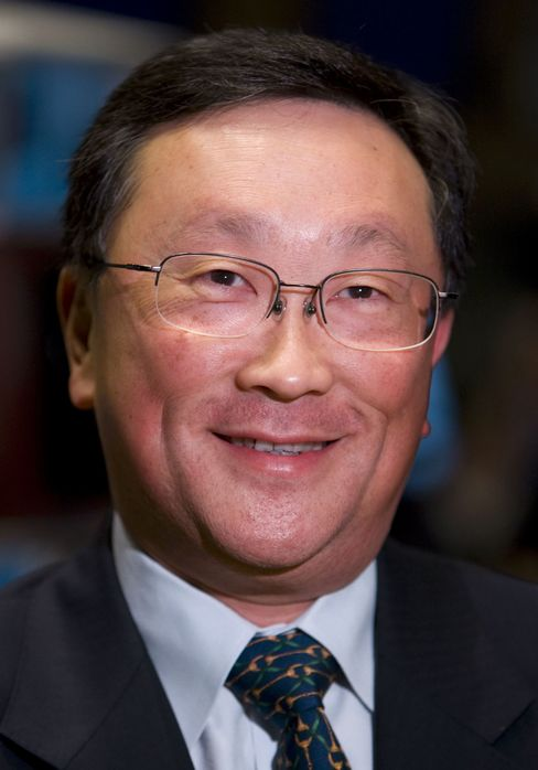 BlackBerry Interim CEO John Chen