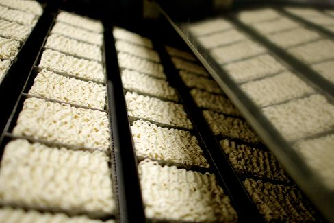 Indonesia's Poor to Drive Noodlemaker Share Jump