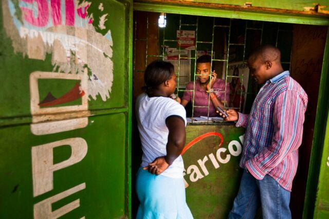 Convenience banking, Nairobi-style. Photographer: Trevor Snapp/Bloomberg