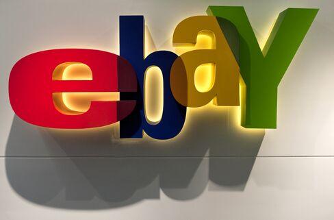 EBay Drops on Second-Quarter Sales Concern