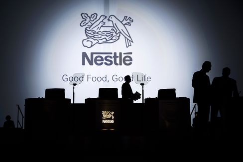 Nestle Reports Slowest First-Quarter Sales Growth in Four Years