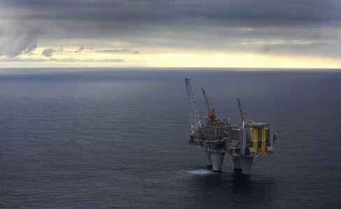 Statoil's Troll A Offshore Gas Platform