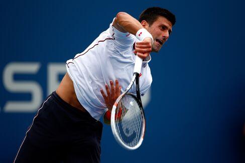 Men's Top Seed Novak Djokovic