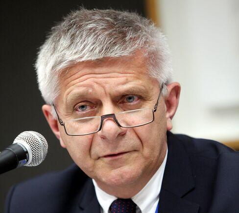 Narodowy Bank Polski Governor Marek Belka