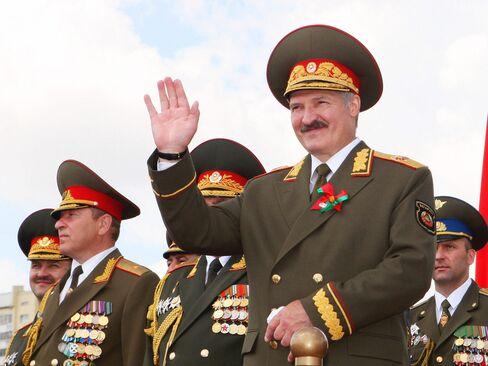 Aleksandr Lukashenko.