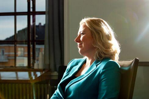 Finnish Finance Minister Jutta Urpilainen