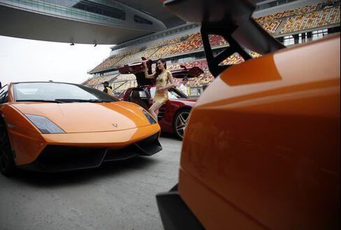 Used Lamborghinis Linger on Hong Kong Lots Amid China Lull