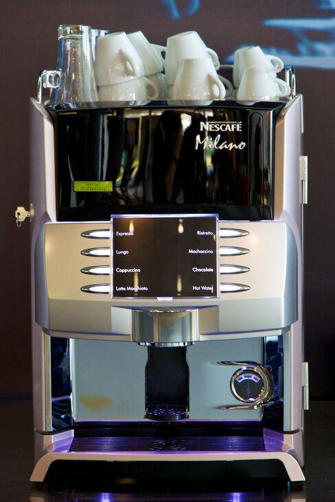 nescafe professional coffee machine