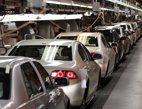 General Motors Co.'s Assembly Plant in Detroit