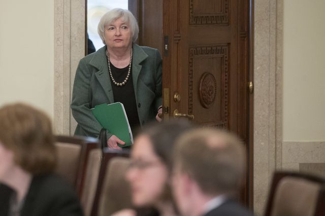 It's a peculiarly uncertain world for Janet Yellen. Photographer: Andrew Harrer/Bloomberg
