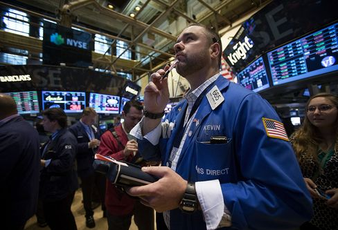 U.S. Stocks Advance as Data Overshadow Fiscal Cliff Concern