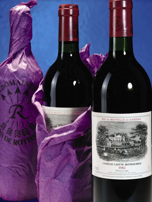 Billionaires' Wine Thirst Quelled by Record Futures