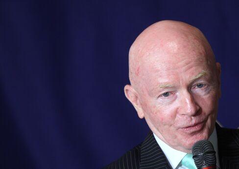 Templeton Emerging Markets Group Chairman Mark Mobius