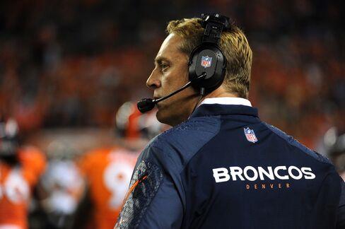 Broncos Interim Coach Jack Del Rio