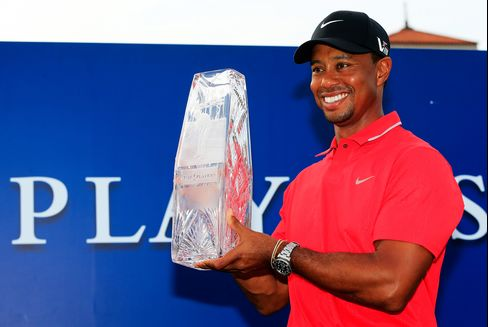 Tiger Woods Wins Players Championship for Fourth Title of Season
