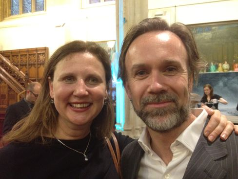 Angela Hartnett and Marcus Wareing