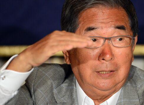 Tokyo Metropolitan Governor Shintaro Ishihara