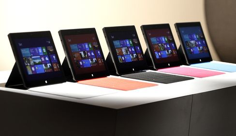 Microsoft Prices Surface Tablet Starting at $499 to Rival IPad