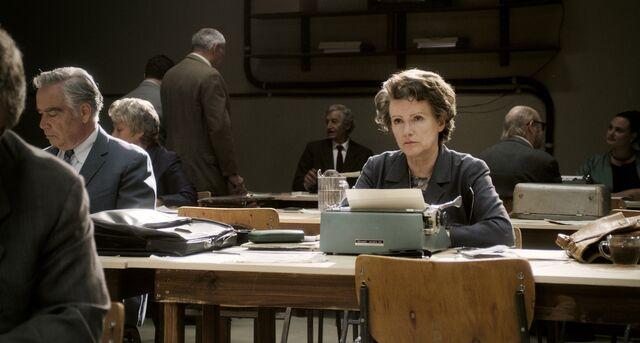 Barbara Sukowa as Hannah Arendt.Source: Zeitgeist Films via Bloomberg