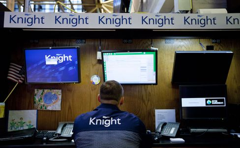 NYSE Shifts Knight Companies Temporarily to Getco's Market Mak