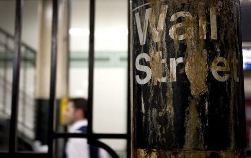 The Wall Street subway station in New York. Photographer: Scott Eells/Bloomberg