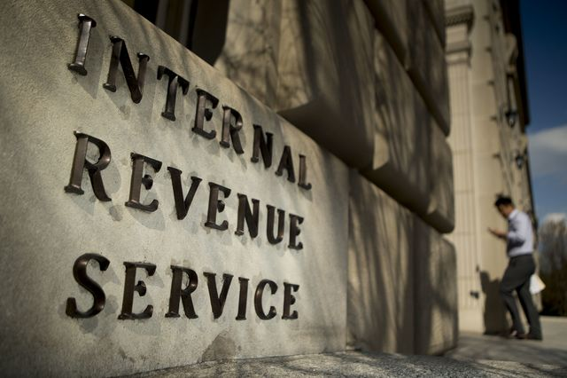 Even the IRS sign is intimidating, isn't it?