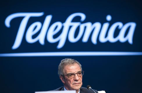 Telefonica Chief Executive Officer Cesar Alierta